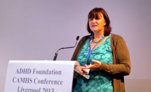 adhd speaker Alison Thompson at the adhd foundation conference