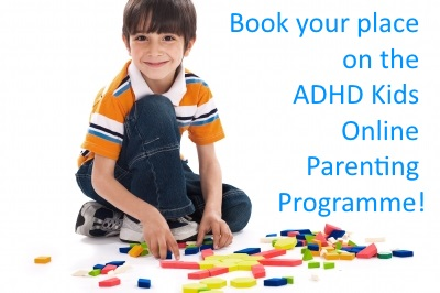 Book your place on the ADHD Kids Online Parenting Programme